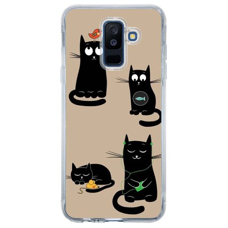 Capa Personalizada para Samsung Galaxy A6 Plus A605 Pets - PE02
