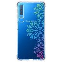 Capa Personalizada Samsung Galaxy A7 2018 Mandala - TP259