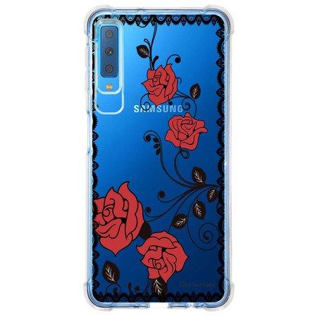 Capa Personalizada Samsung Galaxy A7 2018 Rendas - TP291