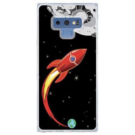 Capa Personalizada Samsung Galaxy Note 9 Foguete - BY01