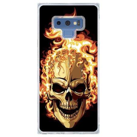 Capa Personalizada Samsung Galaxy Note 9 Caveira - CV18