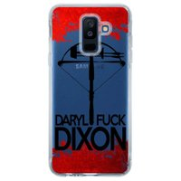Capa Personalizada para Samsung Galaxy A6 Plus A605 The Walking Dead - TV99