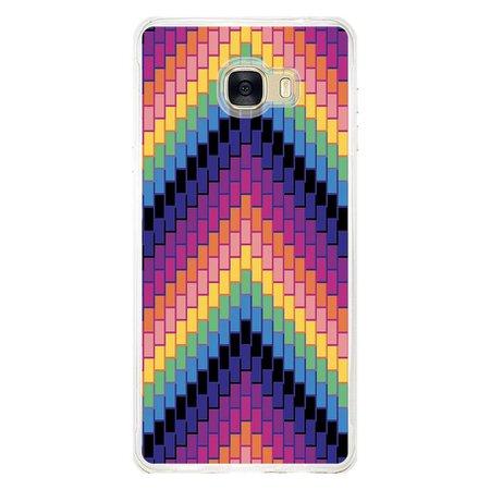 Capa Personalizada para Samsung Galaxy C7 C700 Geométricas - GM21
