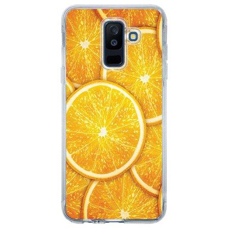 Capa Personalizada para Samsung Galaxy A6 Plus A605 Laranja - TX14