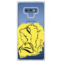 Capa Personalizada Samsung Galaxy Note 9 Bela e a Fera - FM01