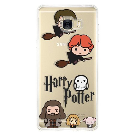 Capa Personalizada para Samsung Galaxy C7 C700 Harry Potter - HP08