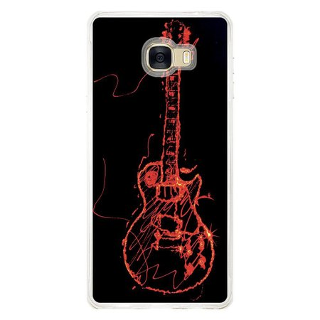 Capa Personalizada para Samsung Galaxy C7 C700 Música - MU11