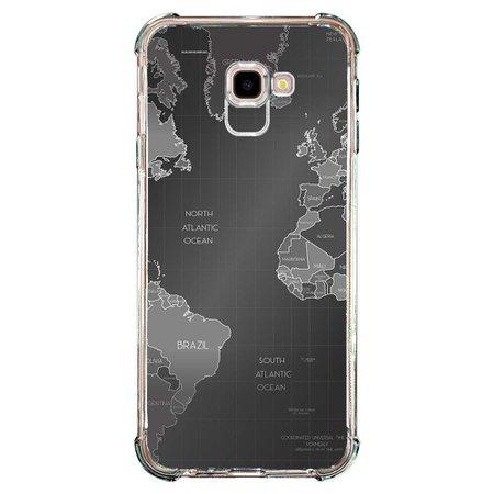 Capa Personalizada para Samsung Galaxy J4 Plus J415 Mapa Mundi - MC01