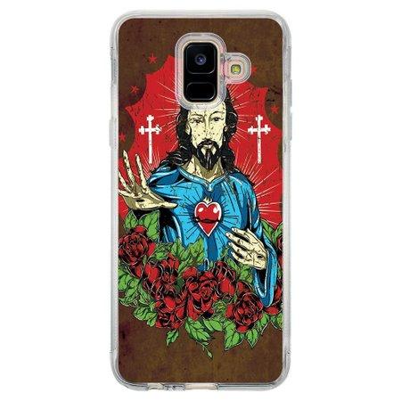 Capa Personalizada Samsung Galaxy A6 A600 Religião - RE21