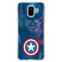 Capa Personalizada para Samsung Galaxy A6 A600 Super Heróis - SH01