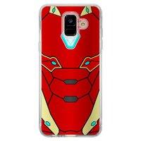 Capa Personalizada para Samsung Galaxy A6 A600 Super Heróis - SH15