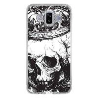 Capa Personalizada Samsung Galaxy J7 Duo Caveira - CV13