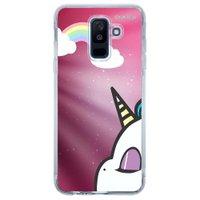 Capa Personalizada para Samsung Galaxy A6 Plus A605 Unicórnio - TP369