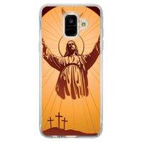 Capa Personalizada Samsung Galaxy A6 A600 Religião - RE18