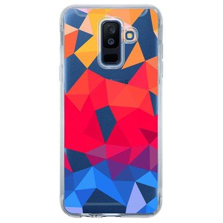 Capa Personalizada para Samsung Galaxy A6 Plus A605 Abstrato - TP375