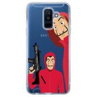 Capa Personalizada para Samsung Galaxy A6 Plus A605 La Casa de Papel - TP342