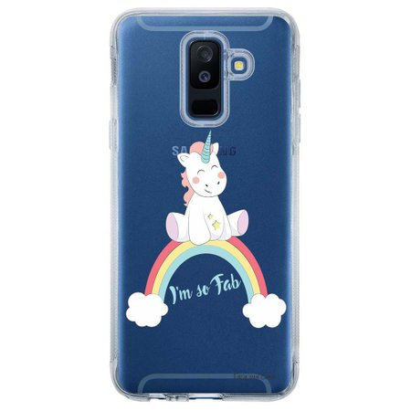 Capa Personalizada para Samsung Galaxy A6 Plus A605 Unicórnio - TP312