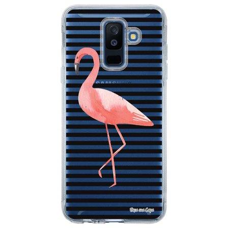 Capa Personalizada para Samsung Galaxy A6 Plus A605 Flamingo - TP317