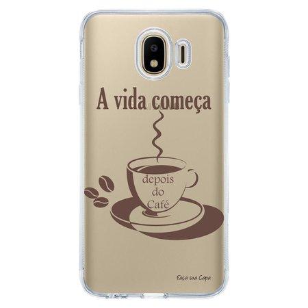 Capa Personalizada Samsung Galaxy J4 J400M Frases - TP01