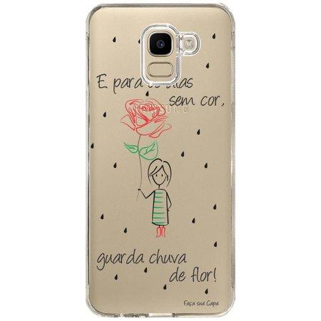 Capa Personalizada Samsung Galaxy J6 J600 Frases - TP112