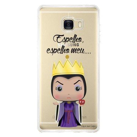 Capa Personalizada para Samsung Galaxy C7 C700 Evil Queen - TP132