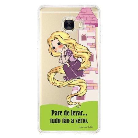 Capa Personalizada para Samsung Galaxy C7 C700 Princesa Rapunzel - TP130