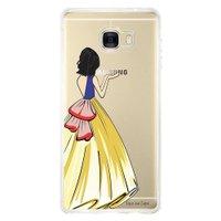 Capa Personalizada para Samsung Galaxy C7 C700 Princesa Branca de Neve - TP203