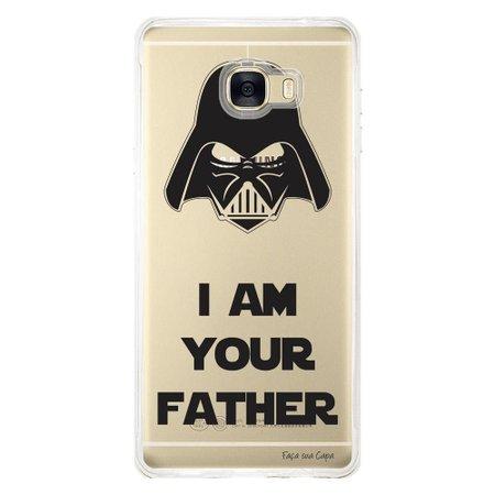 Capa Personalizada para Samsung Galaxy C7 C700 I am Your Father - TP201