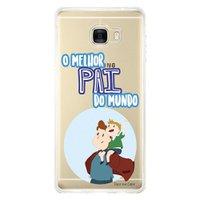 Capa Personalizada para Samsung Galaxy C7 C700 Dia dos Pais - TP198