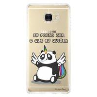 Capa Personalizada para Samsung Galaxy C7 C700 Unicórnio - TP185