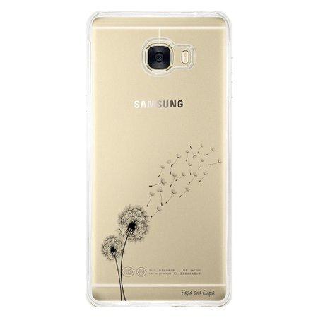 Capa Personalizada para Samsung Galaxy C7 C700 Dente de Leão - TP246