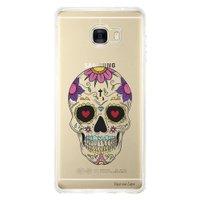Capa Personalizada para Samsung Galaxy C7 C700 Caveira Mexicana - TP242