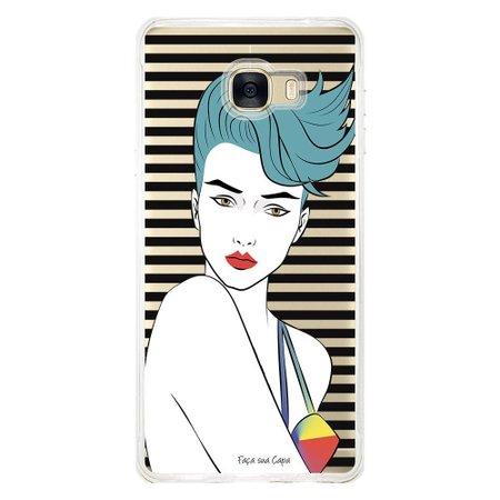 Capa Personalizada para Samsung Galaxy C7 C700 Style - TP265