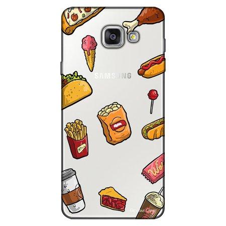 Capa Personalizada para Samsung Galaxy A9 A910 Eu Amo Comida - TP105