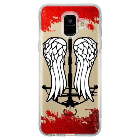 Capa Personalizada para Samsung Galaxy A6 A600 The Walking Dead - TV98