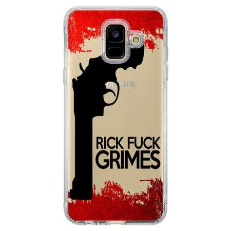 Capa Personalizada para Samsung Galaxy A6 A600 The Walking Dead - TV101