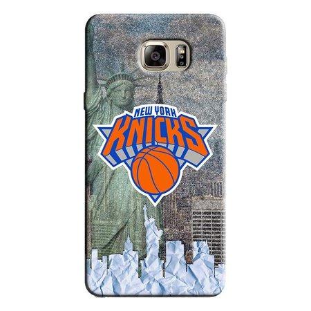 Capa de Celular NBA - Samsung Galaxy Note 5 - New York Knicks - F04