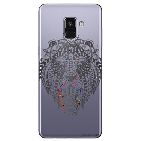 Capa Personalizada para Samsung Galaxy A8 2018 Plus - Leão - TP233