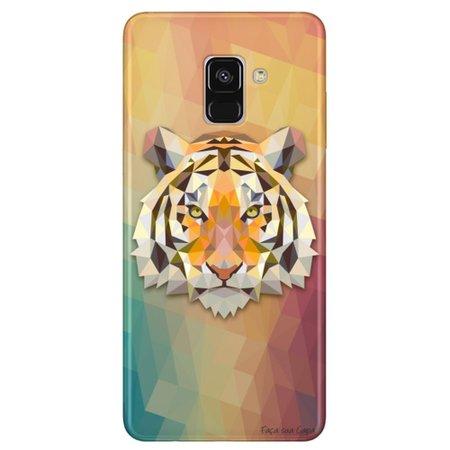 Capa Personalizada para Samsung Galaxy A8 2018 Plus - Tigre - TP237