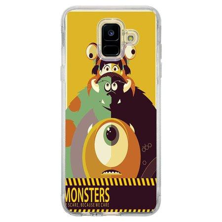 Capa Personalizada Samsung Galaxy A6 A600 Monstros S.A. - TV35