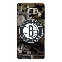 Capa de Celular NBA - Samsung Galaxy Note 5 - Brooklyn Nets - F09