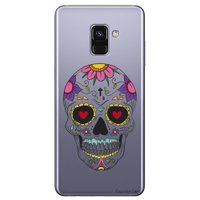 Capa Personalizada para Samsung Galaxy A8 2018 Plus - Caveira Mexicana - TP242