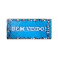 Placa de mdf Decorativa ''Bem Vindo'' 28x13 - D'Rossi