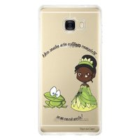 Capa Personalizada para Samsung Galaxy C7 C700 Princesa Tiana - TP129