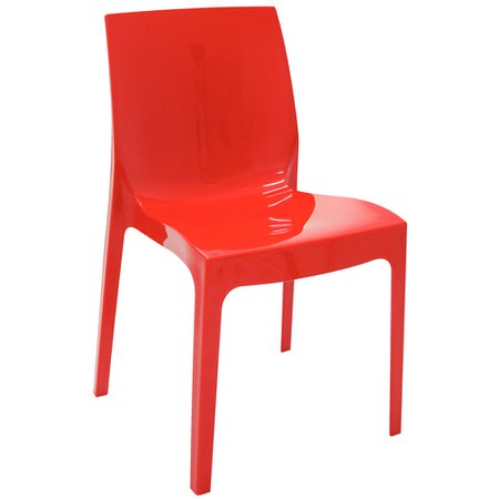 Cadeira Tramontina Vermelha 92037/040