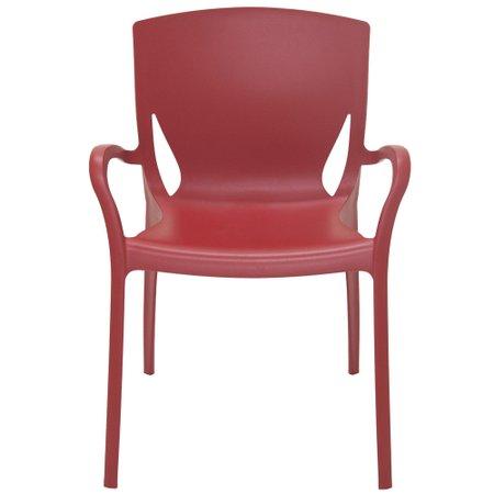 Cadeira Tramontina Vermelha 92040/040