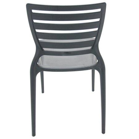 Cadeira Tramontina Grafite 92237/007