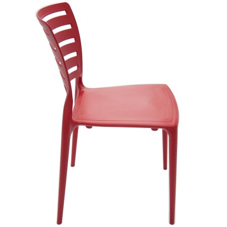 Cadeira Tramontina Vermelha 92237/040