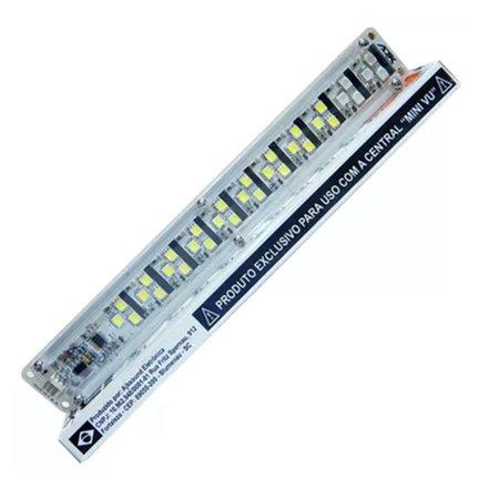 Régua para Mini VU AJK Sound c/ 33 Super Leds
