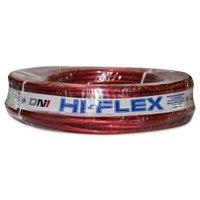 Fio Flexível para Sonorização Profissional de Alta Potência Dni Hi-Flex 2,1 cm 2500 cm Cristal Vermelho